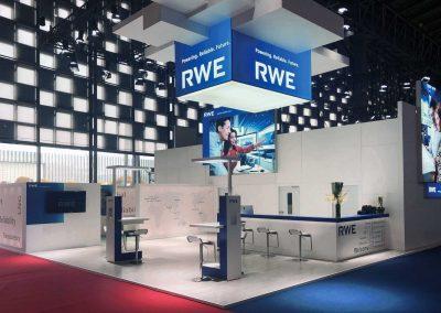 Für RWE auf der LNG in Shanghai