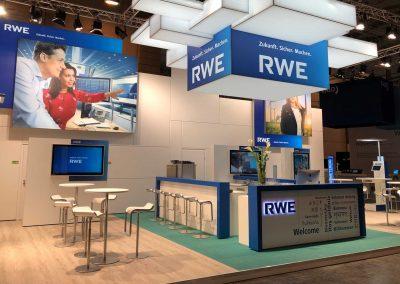 Für RWE auf der E-world 2019 in Essen