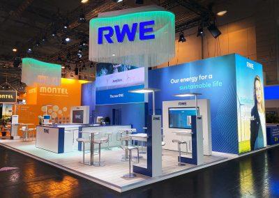 Für RWE auf der E-world 2020